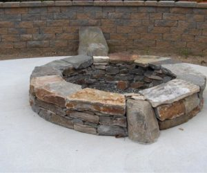 Outdoor Fire Pit, Stone Fire Pit, Fire Pit Design, Outdoor Fire Pit Design Western MA, Fire Pit Design Wilbraham MA