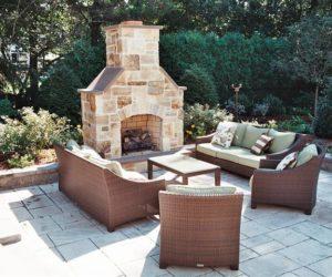 Outdoor Stone Fireplace, Stonework Western MA, Stonework Springfield MA, Stone Fireplace Design, Fireplace Architecture