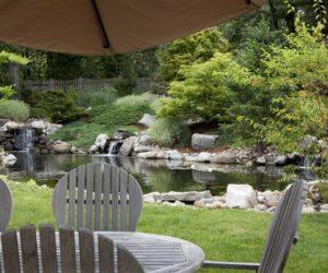 Koi Pond In Backyard, Koi Ponds, Koi Pond Design, Koi Pond Installation, Landscape Designer, Landscape Architect, Landscape Architecture