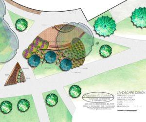 Commercial Drawing, Commercial Landscape Design, Commercial Landscape Design Western MA, Commercial Landscaping Western MA
