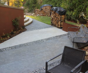Westcott Residence, Backyard Patio Design, Stone Masonry Western MA, Stone Patio Western MA
